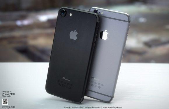 Hoe de nieuwe iPhone 7 er in donker spacegrijs kan uitzien