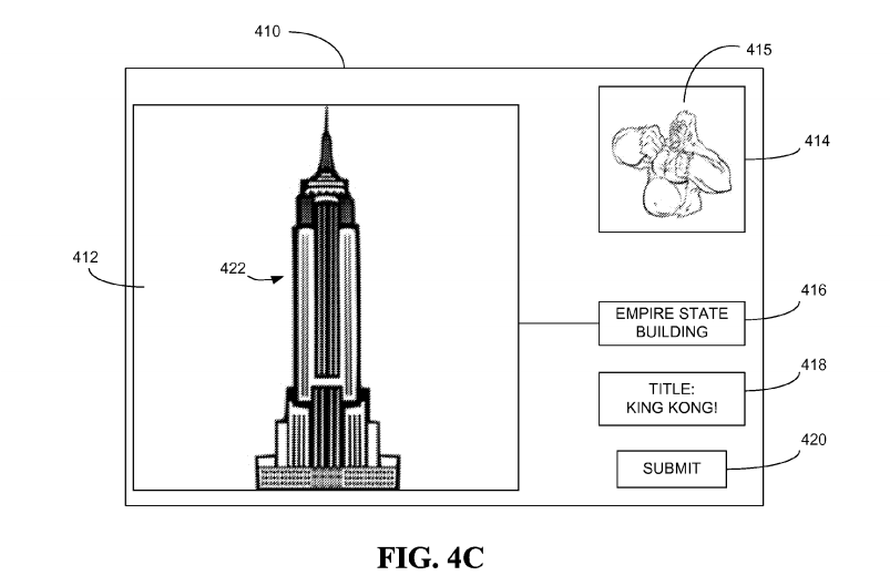 snapchat reclame patent
