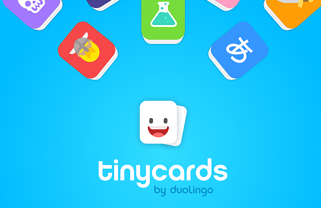 Tinycards van Duolingo helpt je te leren
