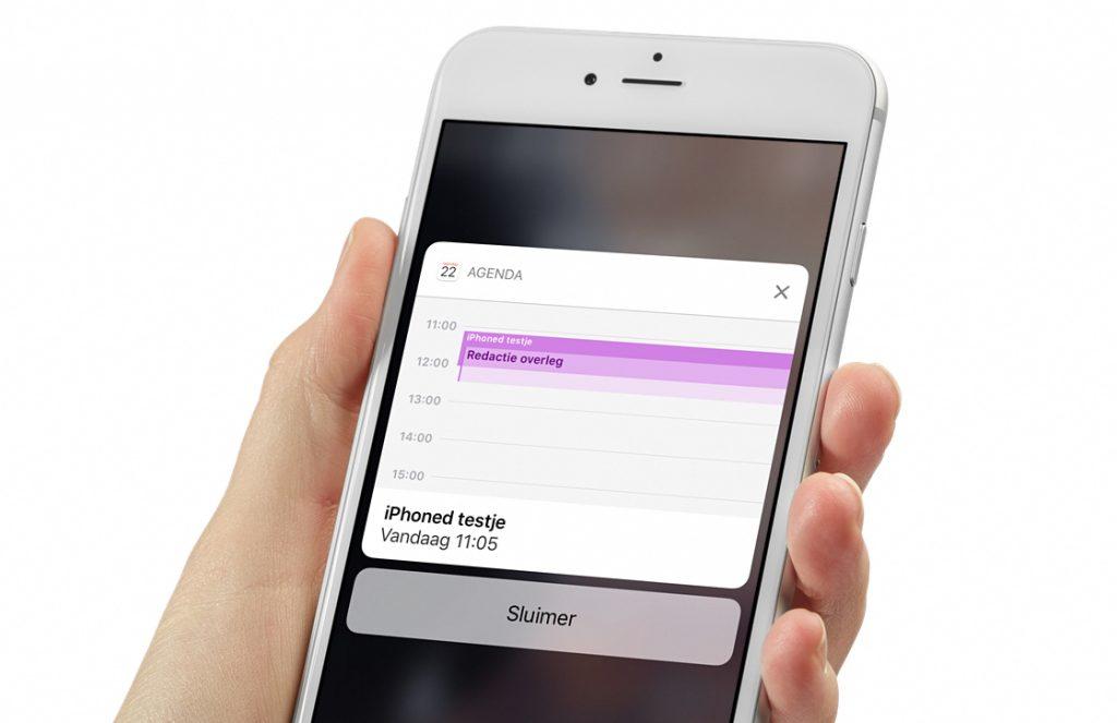 iOS 10 apps veranderingen