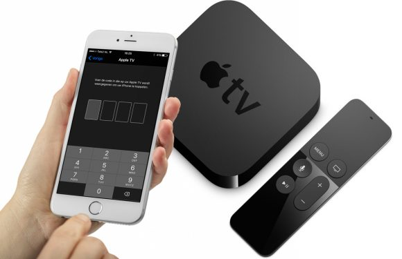 how to use apple tv remote app