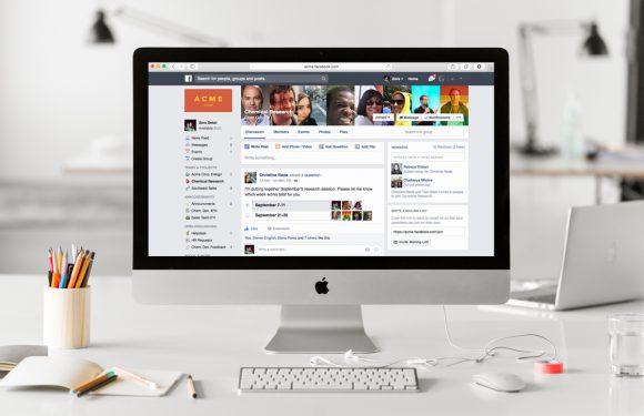 Zo gaat Facebook at Work de strijd aan met Slack en andere bedrijfssoftware