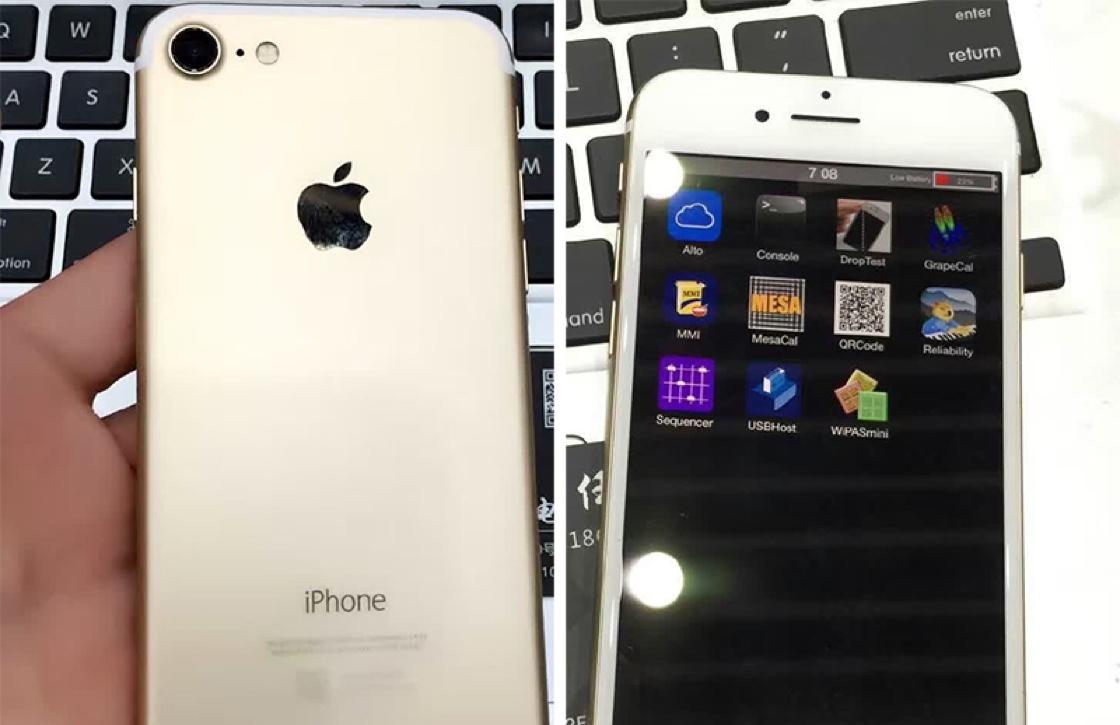 'Gelekte video en foto's tonen eerste functionele iPhone 7'