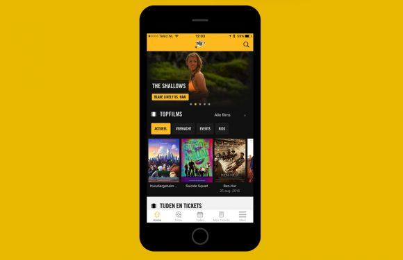 Pathé-app compleet vernieuwd met overzichtelijker design