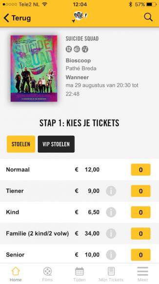 Pathé app update