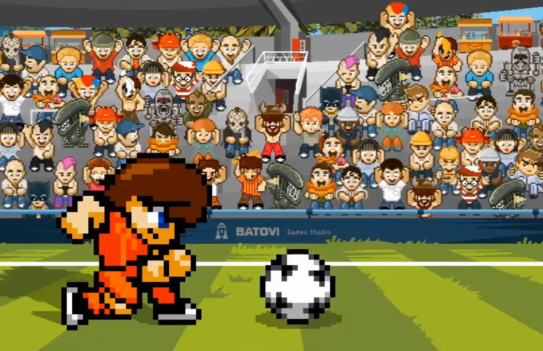 Pixel Cup Soccer 16 is Apples gratis App van de Week