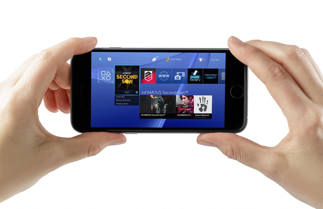 Met PlayCast speel je PlayStation 4-games op je iPhone