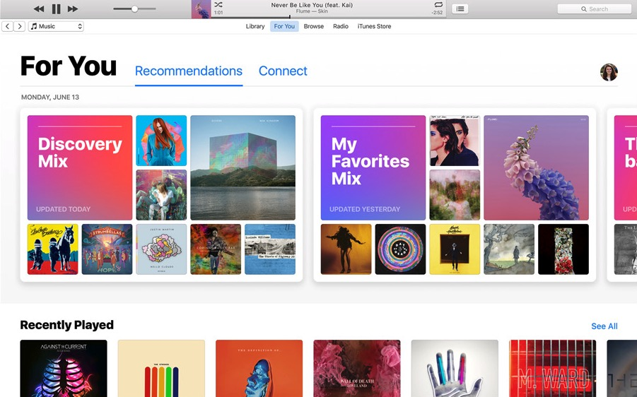 apple music sierra