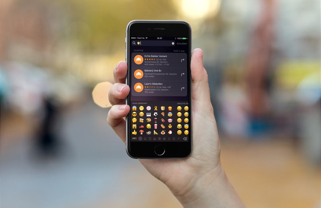 Zo gebruik je emoji om snel locaties te vinden in Apple Maps en meer