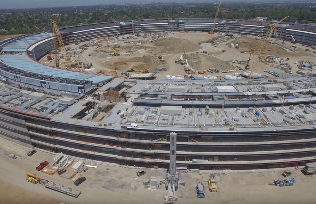 apple campus video