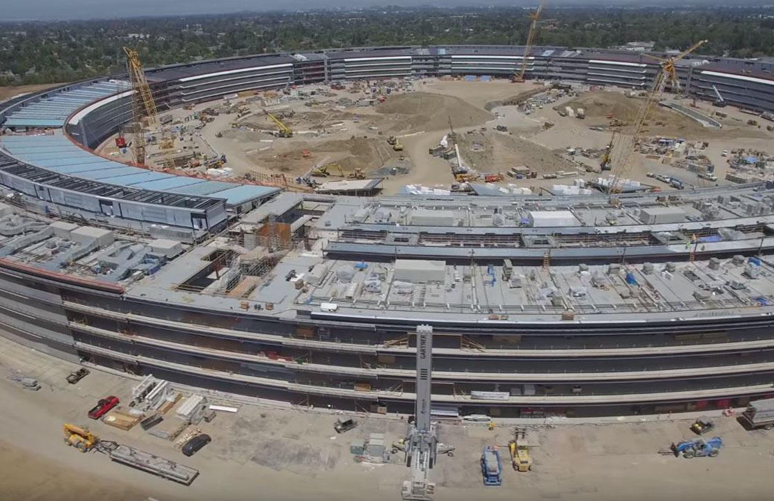 Video: Zo ziet de nieuwe Apple Campus er nu uit