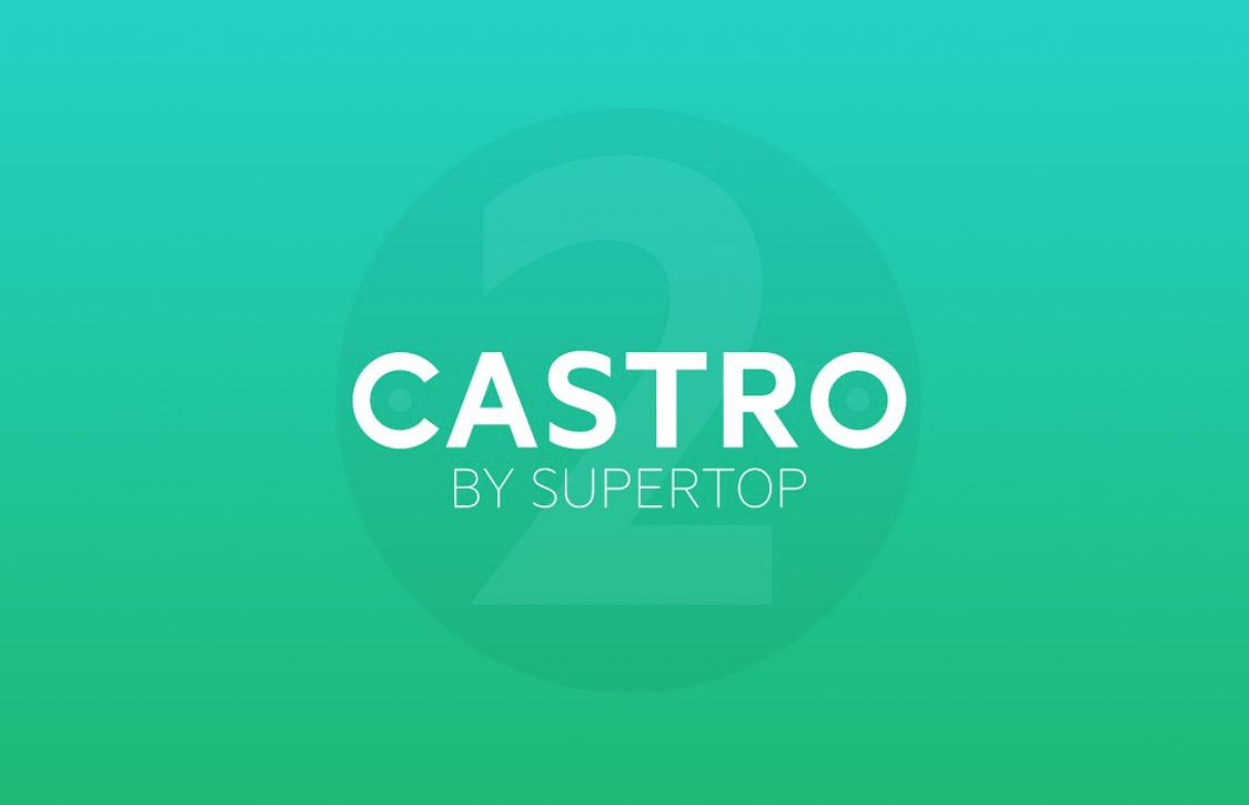 Podcast-app Castro is nu overzichtelijker met fraai design