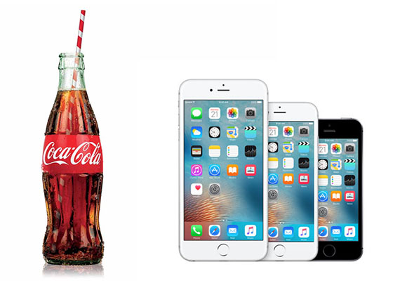 cola iphone