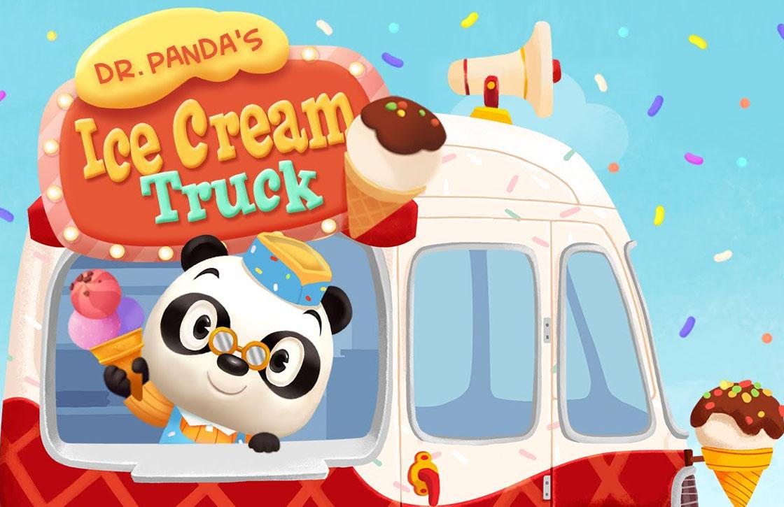 Dr. Panda's IJscowagen is de gratis App van de Week