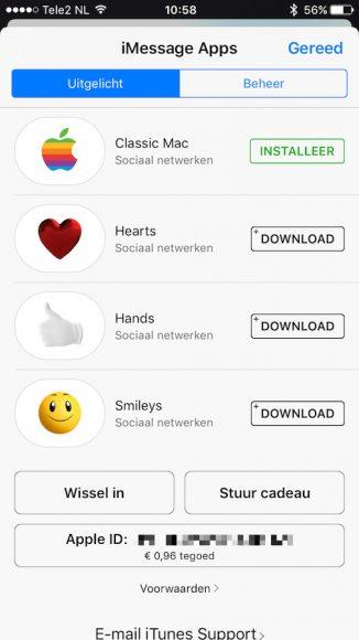iOS 10 veranderingen