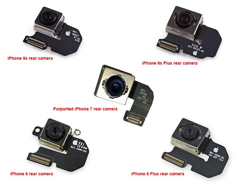 iPhone 7 optische beeldstabilisatie