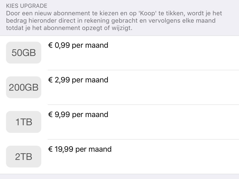 iCloud 2TB