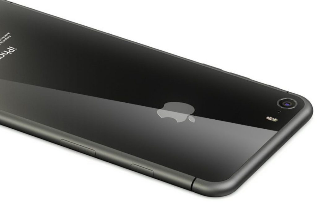 iPhone 8 glazen behuizing