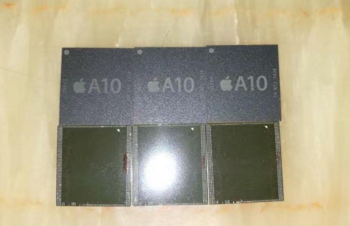 'Dit is de eerste foto van de A10-chip voor de iPhone 7'