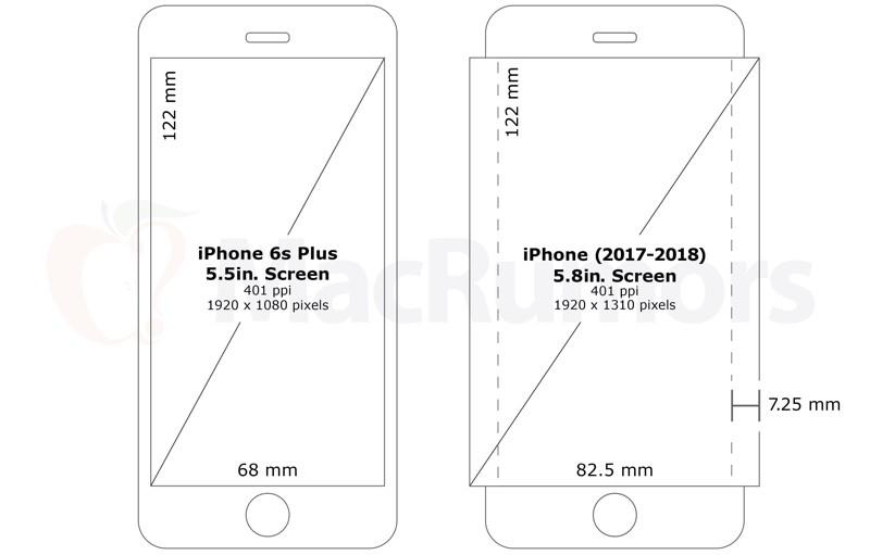 iphone gebogen scherm