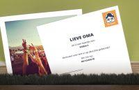 Omapost: stuur elke maand een kaartje naar een dierbare