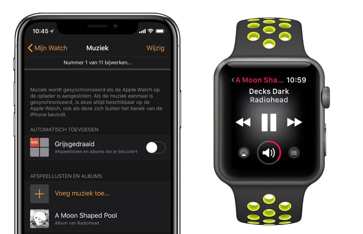 Gids: Muziek luisteren op de Apple Watch, alles wat je moet weten