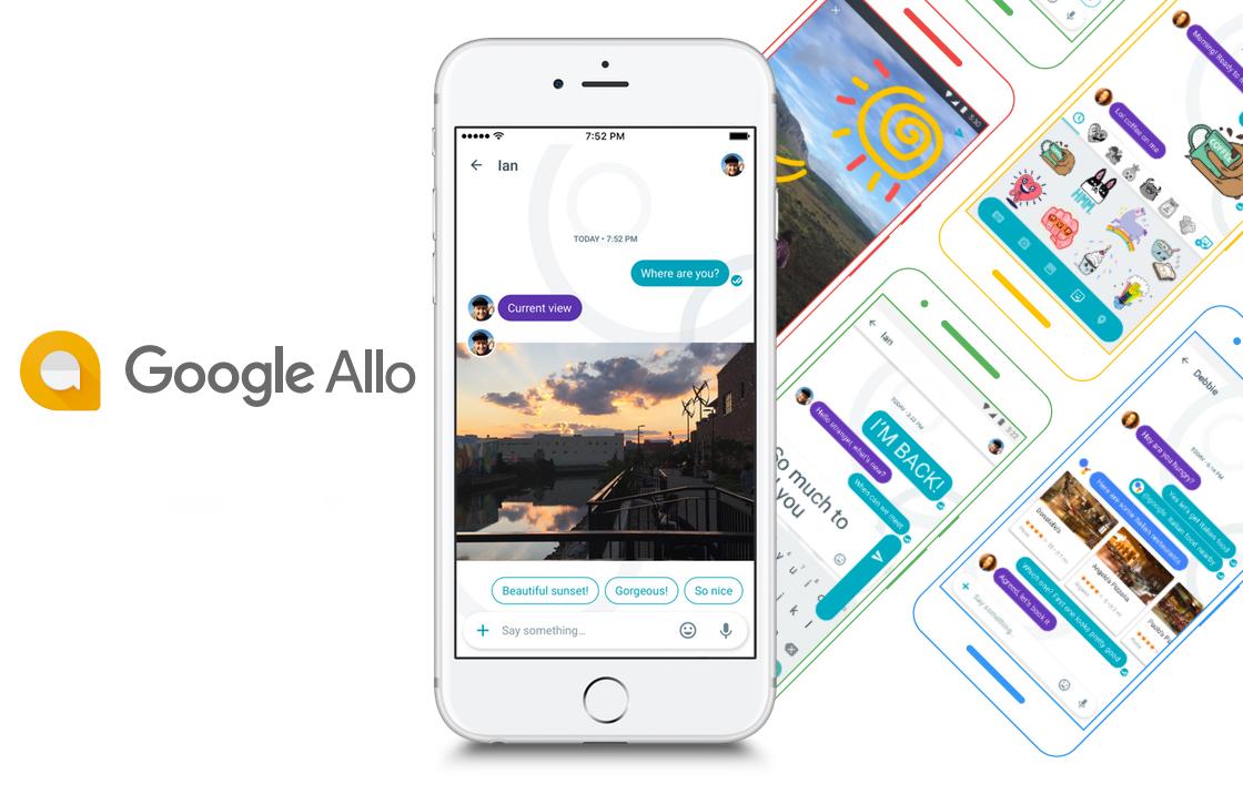 Praat hardop tegen de Google Assistant op je iPhone met Google Allo 2.0