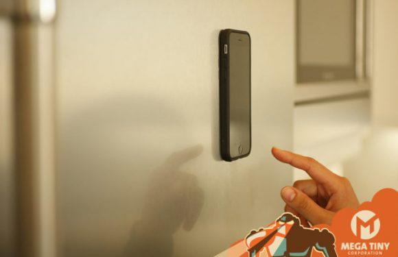 Megaverse: modulaire iPhone-case blijft aan muren kleven, maar plakt niet