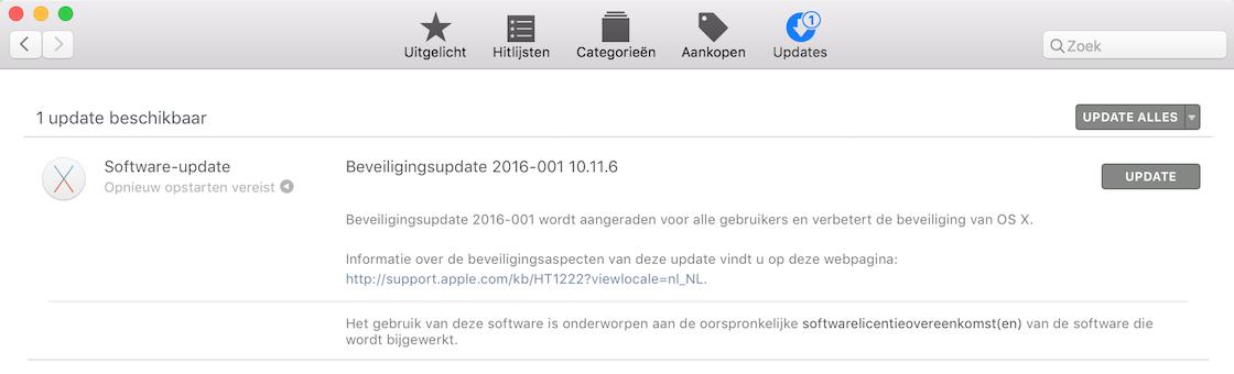OS X beveiligingslek