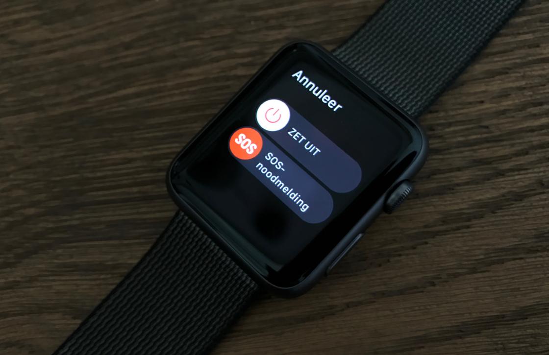 Zo verstuur je een SOS-noodmelding met de Apple Watch