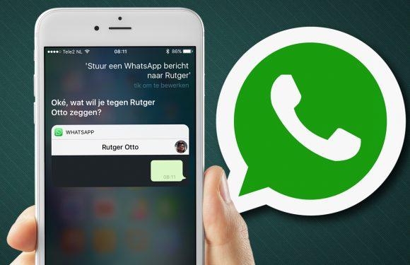 Zo verstuur je een WhatsApp-bericht met Siri in iOS 10