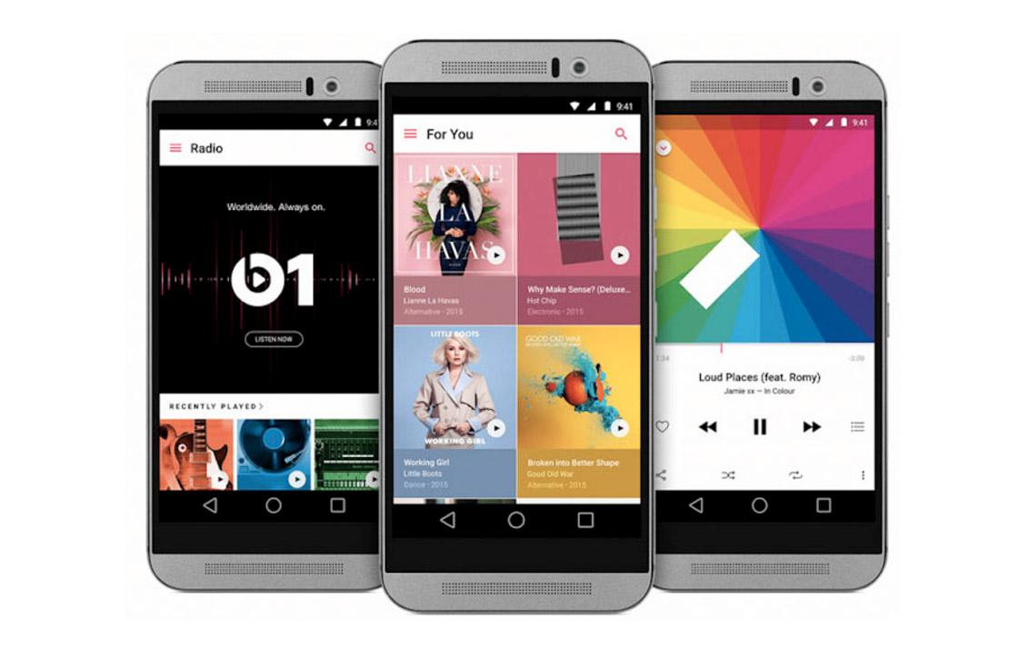 Apple Music doet het goed op Android: 10 miljoen downloads