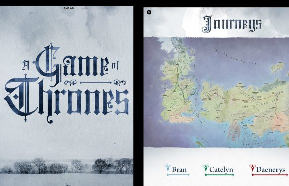 A Game of Thrones: Enhanced Edition exclusief voor iBooks
