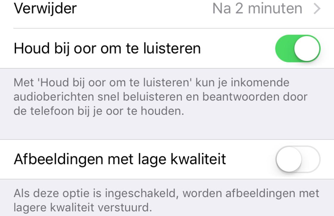 iOS 10 verbeteringen