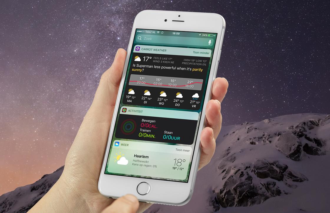 iOS 10 nu op 80 procent van alle actieve iOS-apparaten geïnstalleerd