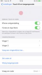 iOS 10 Touch ID problemen