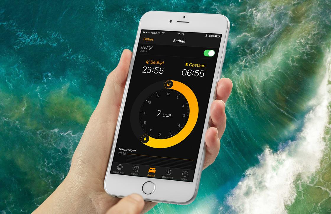 Tip: Zo gebruik je de Bedtijd functie van je iPhone