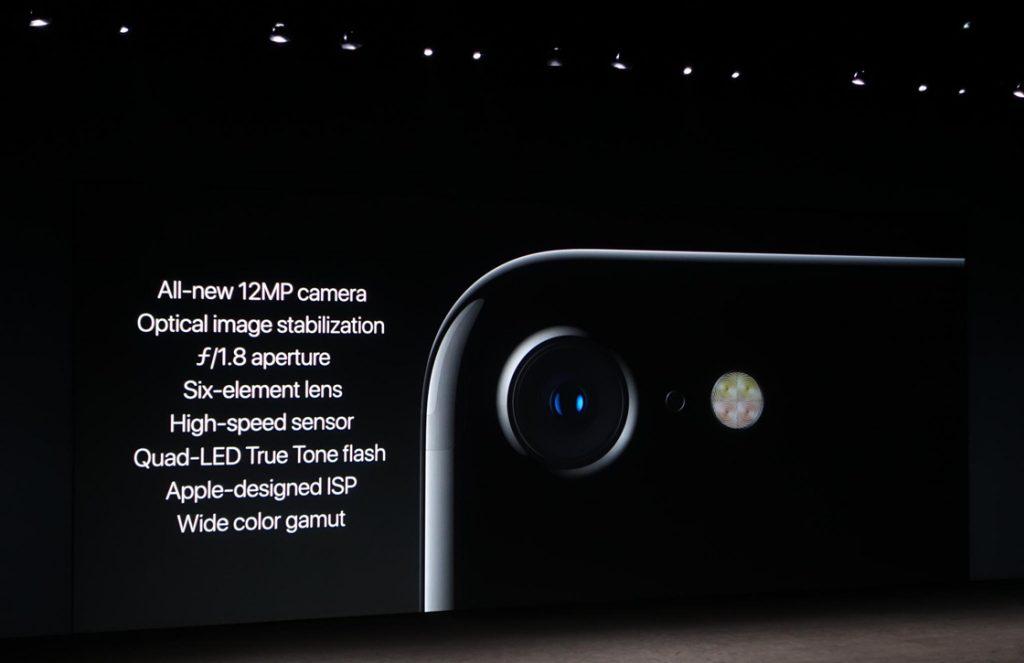 iPhone 7 camera specs