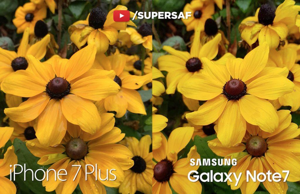 iPhone 7 Plus camera vergelijking