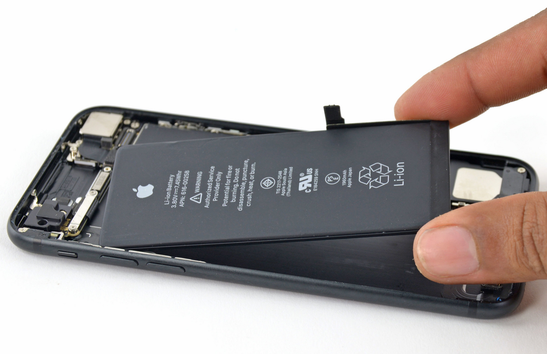 OLED iPhone accu