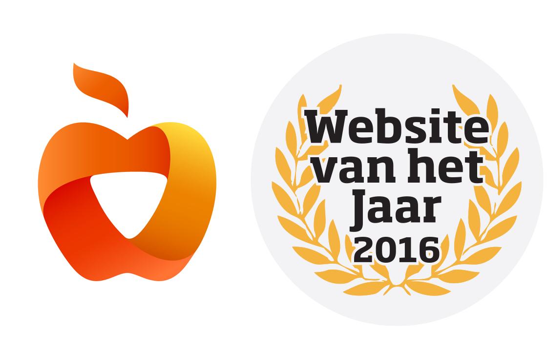 Stem iPhoned naar de overwinning als Website van het Jaar 2016!
