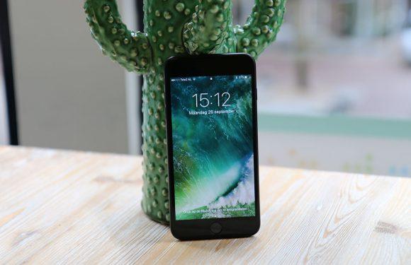 Apple brengt iOS 10.1 uit met Portretmodus voor iPhone 7 Plus