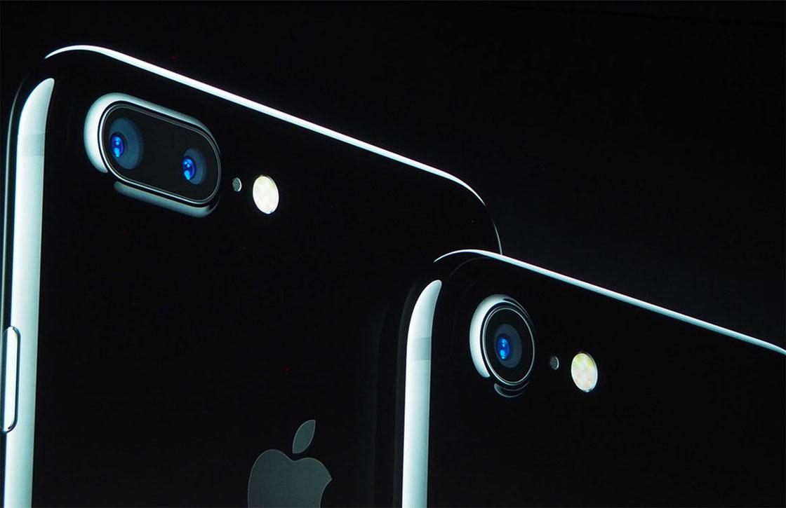 iPhone 7 schrijfsnelheid