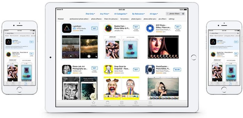 app store reclame