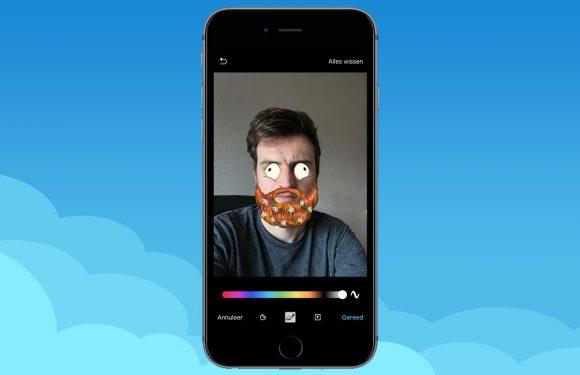 Zo plak je stickers en maskers in Telegram