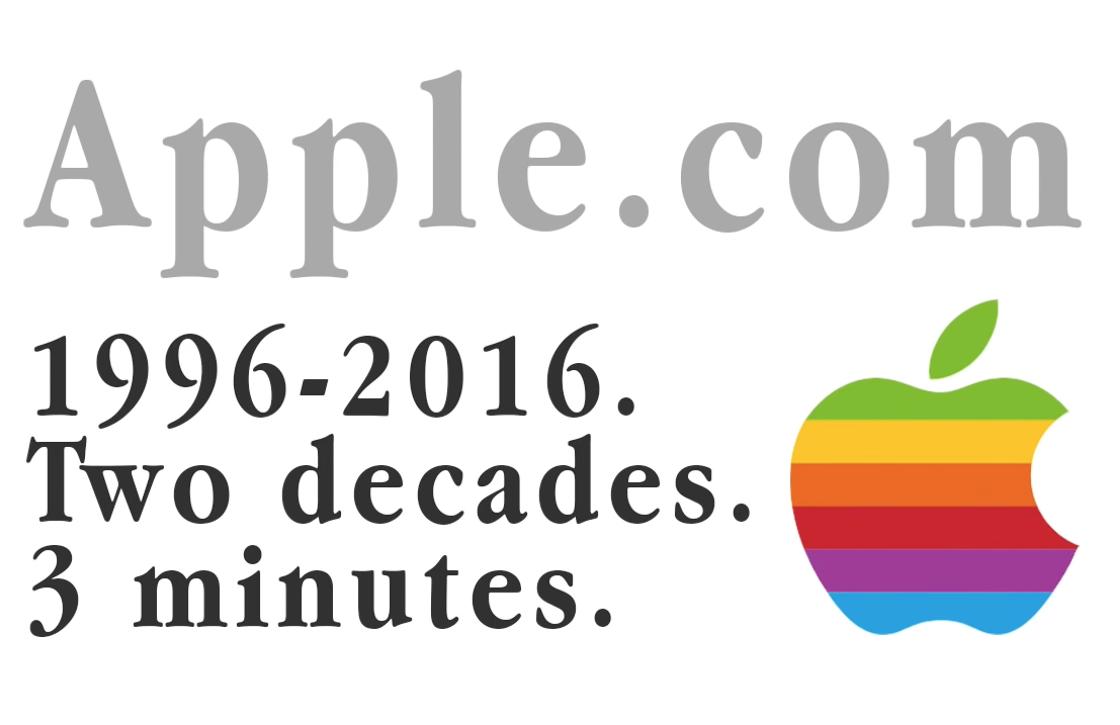 Video: zo veranderde het design van Apples website in 20 jaar