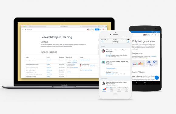 Dropbox Paper: werk samen aan projecten, ongeacht het apparaat dat je gebruikt