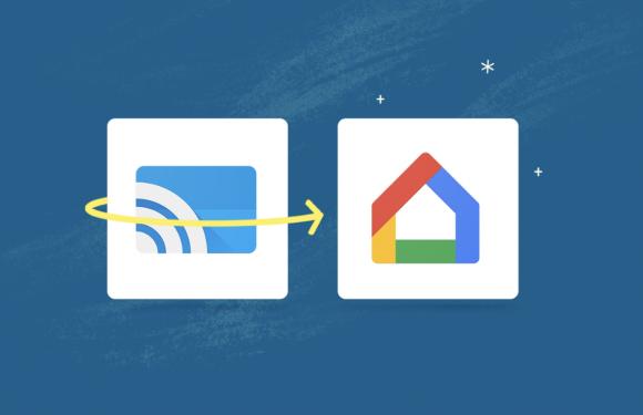 Google Cast-app krijgt nieuw logo, functie en naam voor Google Home