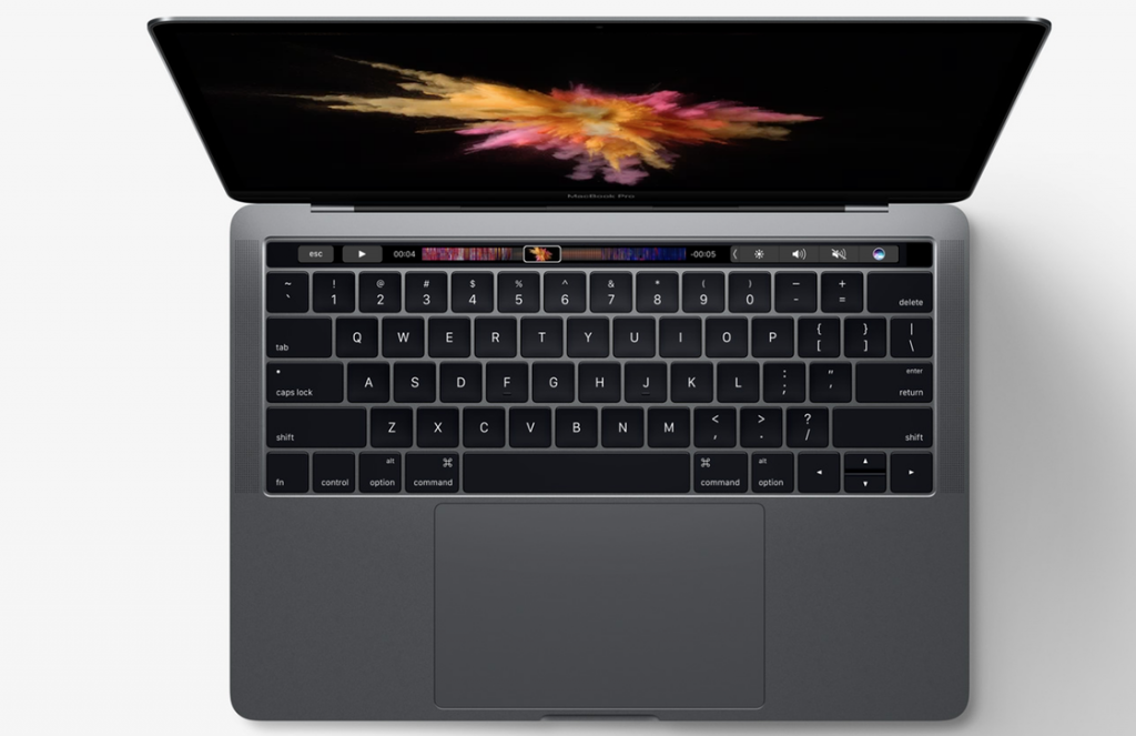 MacBook Pro 2016 officieel