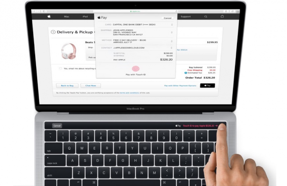 Apple lekt eerste foto van nieuwe MacBook Pro met Magic Toolbar